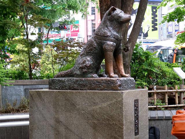 渋谷忠犬ハチ公
