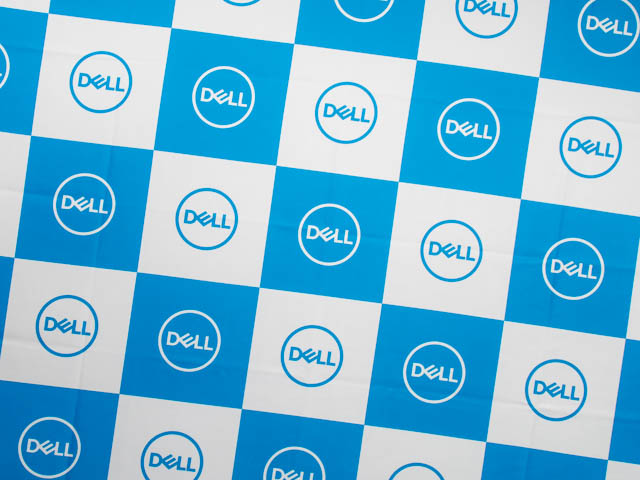 DELL新製品発表会20170929 壁画ロゴ