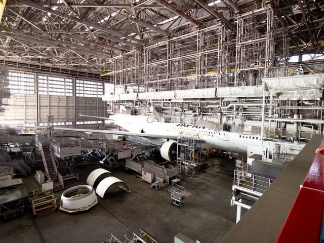 機体工場見学 JAL 26