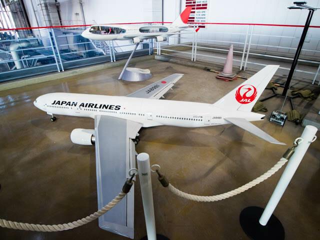 機体工場見学 JAL 24