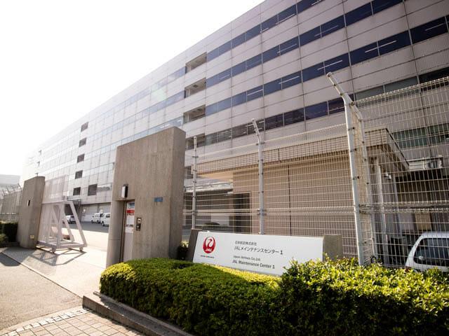 機体工場見学 JAL 6