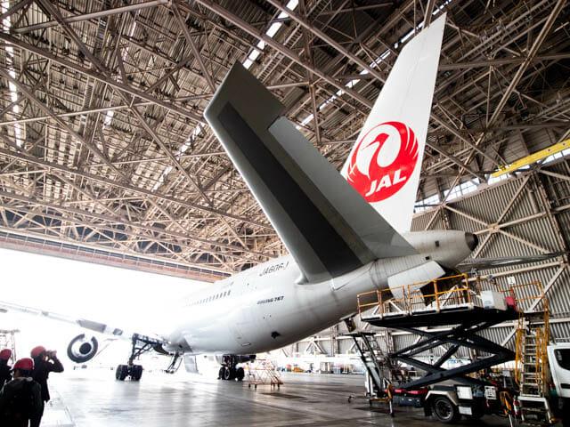 機体工場見学 JAL 29