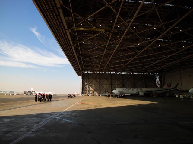 機体工場見学 JAL 33