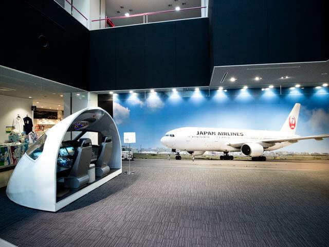 機体工場見学 JAL 14