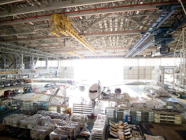 機体工場見学 ANA 12