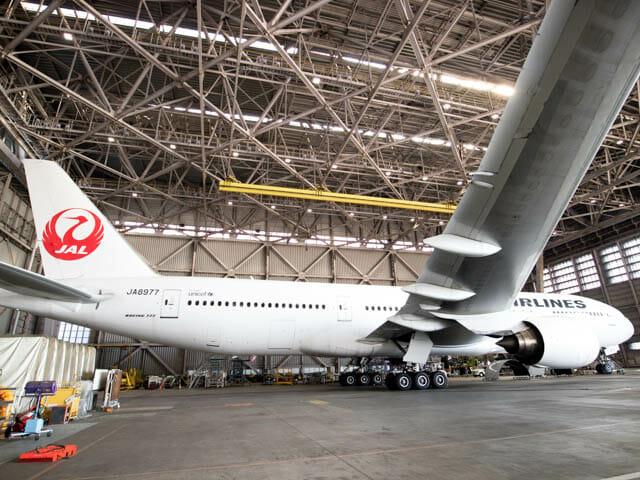 機体工場見学 JAL 31