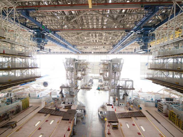 機体工場見学 ANA 11