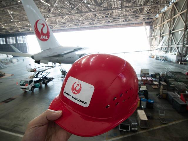 機体工場見学 JAL 1