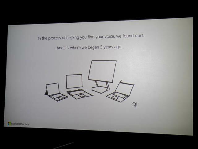 マイクロソフト 新製品Touch Tryイベント Surface5周年