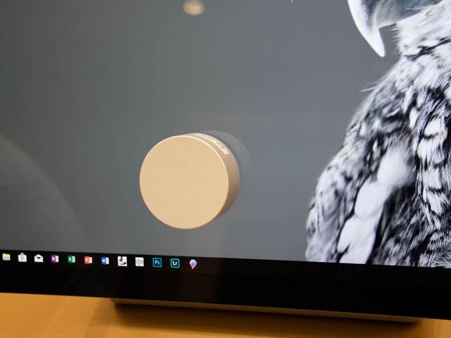 マイクロソフト 新製品Touch Tryイベント SurfaceDial傾斜