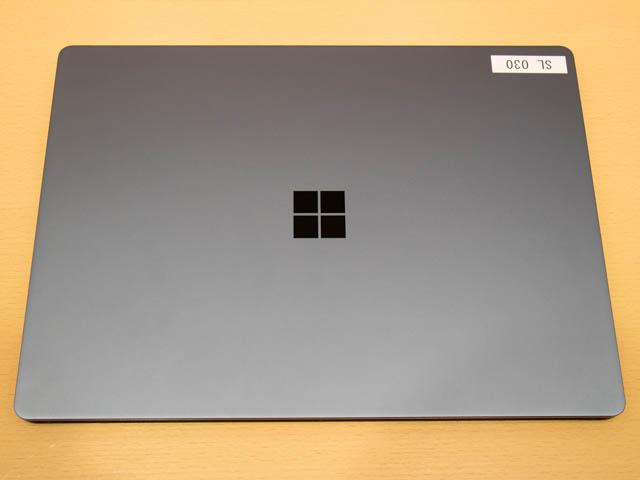 マイクロソフト 新製品Touch Tryイベント SurfaceLaptop上面