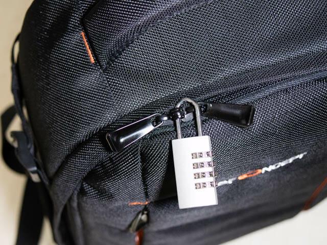 K F Concept カメラバッグ 内部ファスナー防犯
