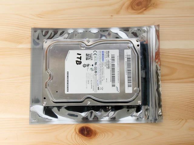 ハードディスク保管 静電防止袋3 5インチHD比較