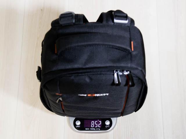 K F Concept カメラバッグ 重量