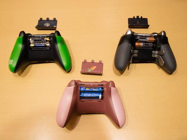 マイクロソフト 新製品Touch Tryイベント XBOXコントローラー背面電池フタ