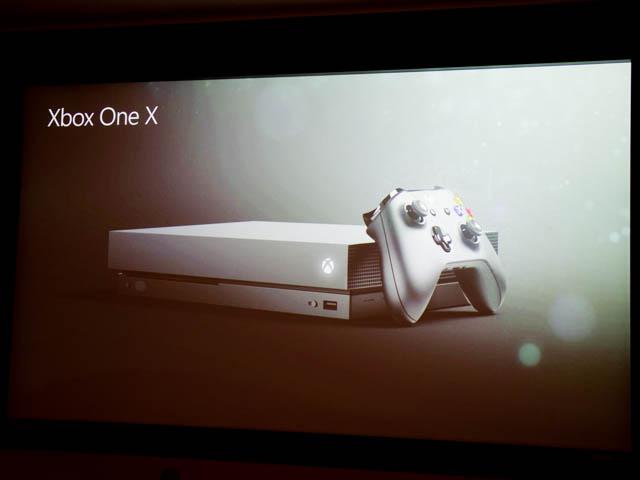 マイクロソフト 新製品Touch Tryイベント XBOX One X