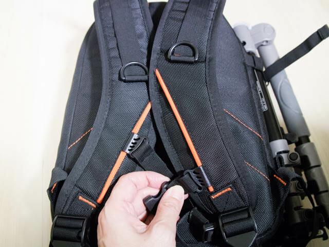 K F Concept カメラバッグ 背面ズレ防止ベルト