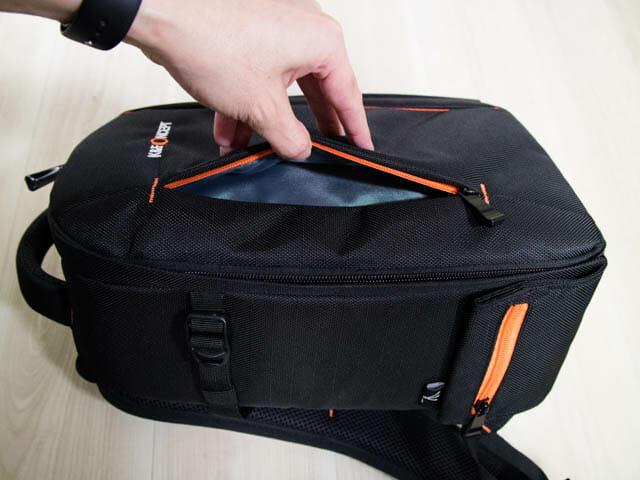 K F Concept カメラバッグ 正面ポケット