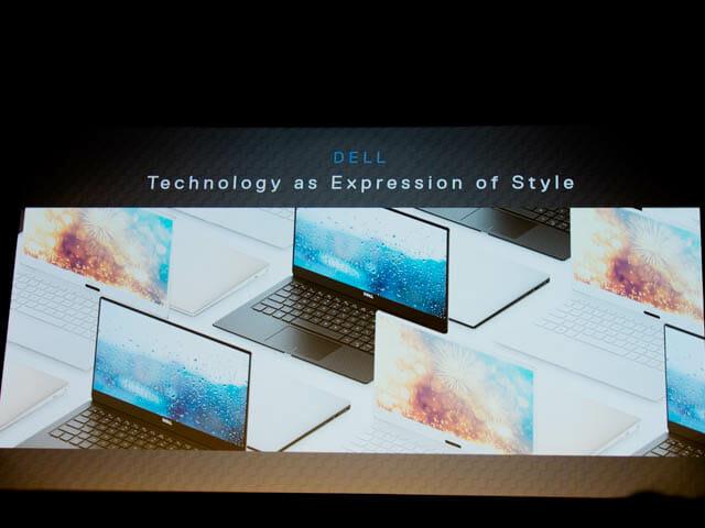 DELL新製品発表会201801 XPS13 スタイル