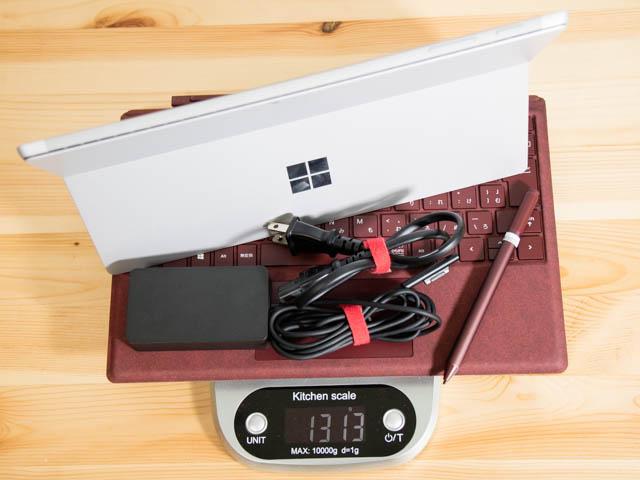SurfacePro 重量