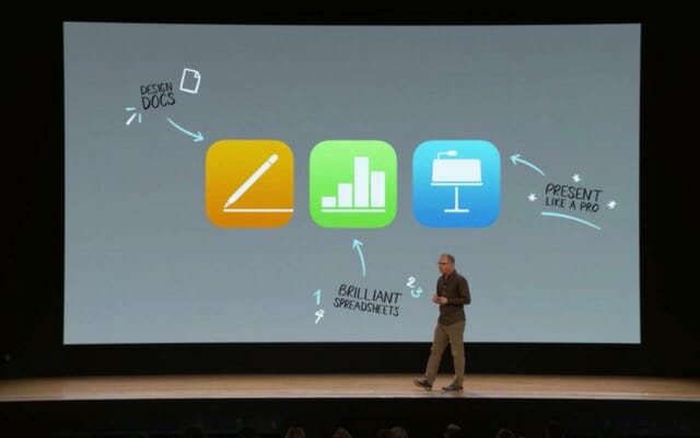 AppleSpecialEvent201803 iWorkApplePencil対応