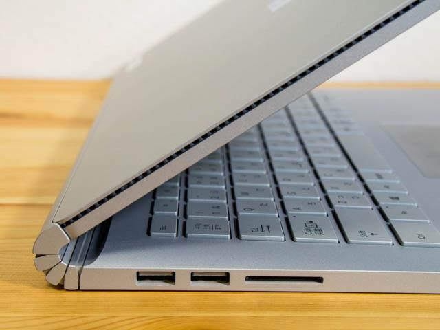 SurfaceBook2 ヒンジ