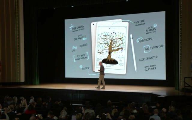 AppleSpecialEvent201803 iPadスペック