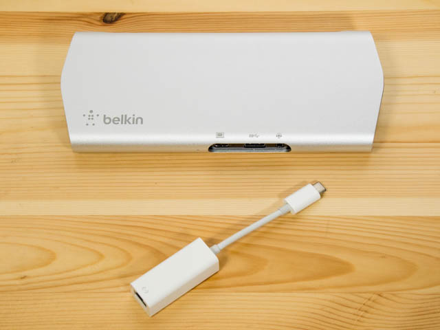 SurfaceBook2 イーサーネット接続可能