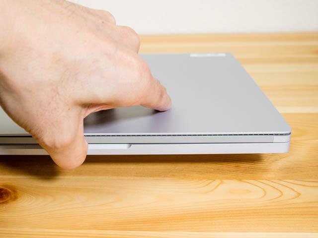 SurfaceBook2 開く