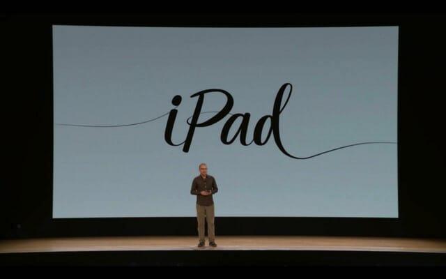 AppleSpecialEvent201803 iPad
