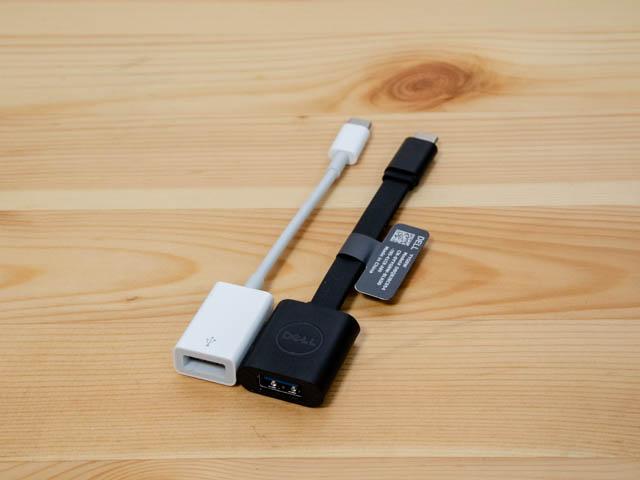 DELL XPS13 USB A変換
