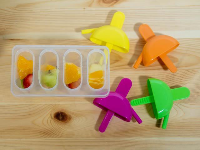 自宅で簡単アイスキャンディーメーカー 具材