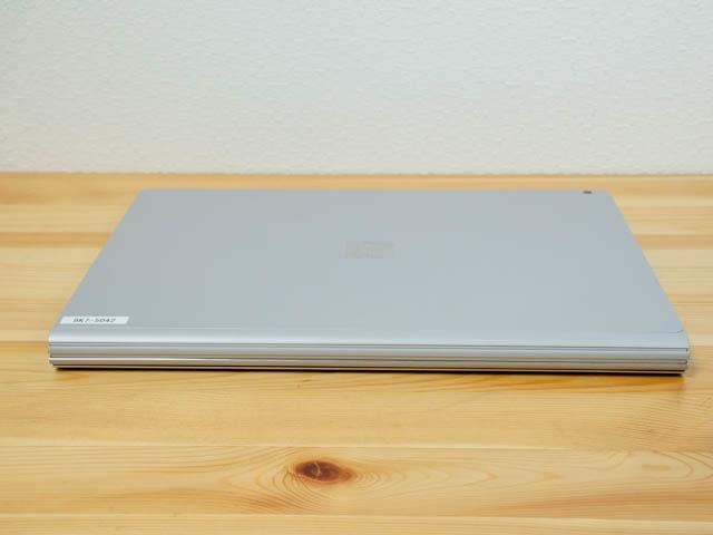SurfaceBook2 15inch 本体 背面
