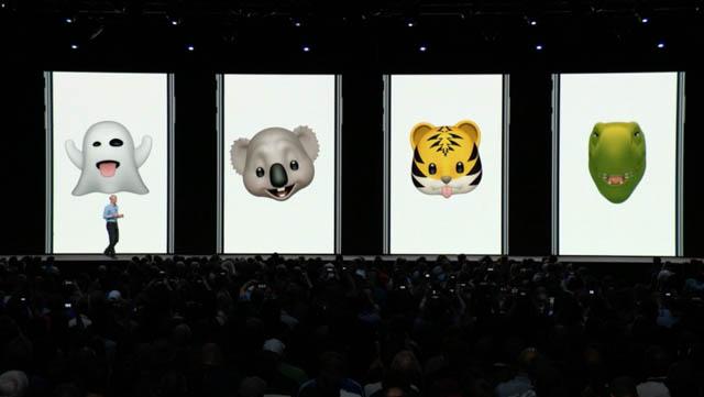 WWDC18 iOSアニ文字