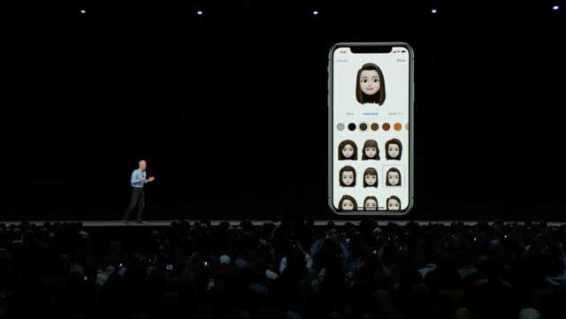 WWDC18 iOSMemoji