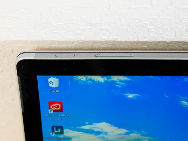 SurfaceBook2 15inch 電源ボタン