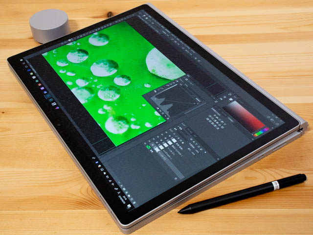 SurfaceBook2 15inch タイトル