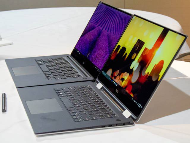 DELL Ambassador201806 XPS15 2in1 XPS15比較キーボード厚み