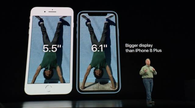 AppleSpecialEvent201809 iPhoneサイズ