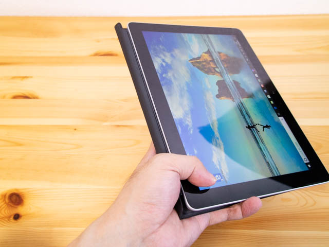 SurfaceGo タブレットモードタイプカバー付き