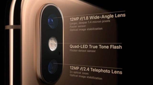 AppleSpecialEvent201809 iPhoneカメラ