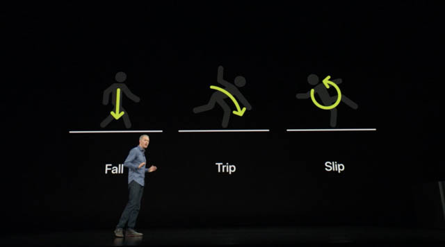 AppleSpecialEvent201809 AppleWatch転倒