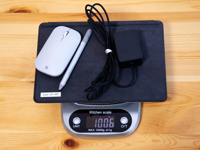 SurfaceGo 重量