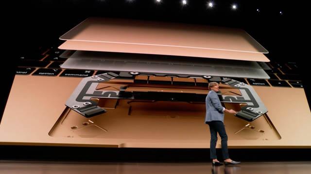 AppleSpecialEvent201810 MacBookAir トラックパッド