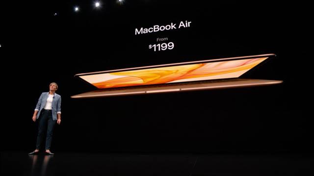 AppleSpecialEvent201810 MacBookAir 価格