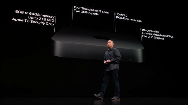 AppleSpecialEvent201810 Macmini 仕様