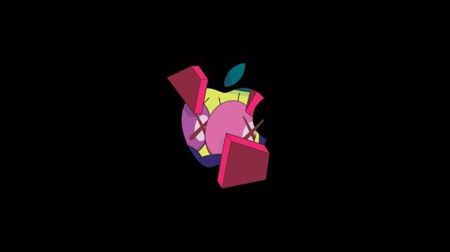 AppleSpecialEvent201810 招待状のロゴ