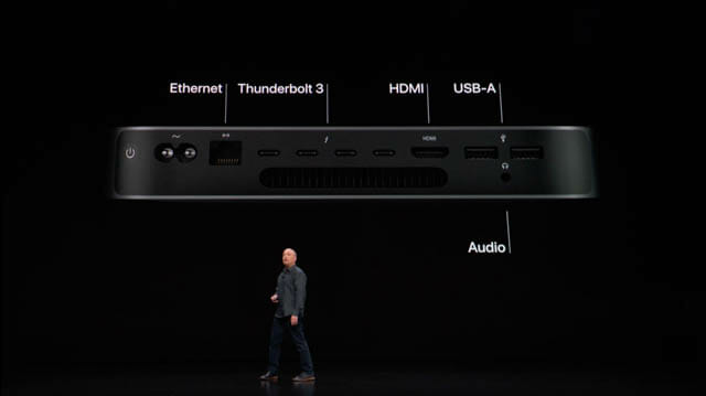 AppleSpecialEvent201810 Macmini IO