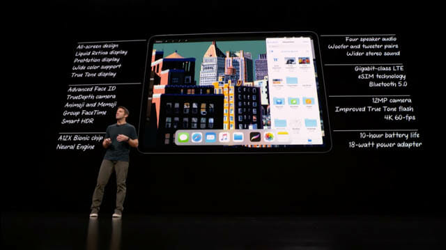 AppleSpecialEvent201810 iPadPro 仕様