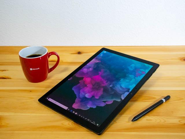 SurfacePro6 タブレットモード